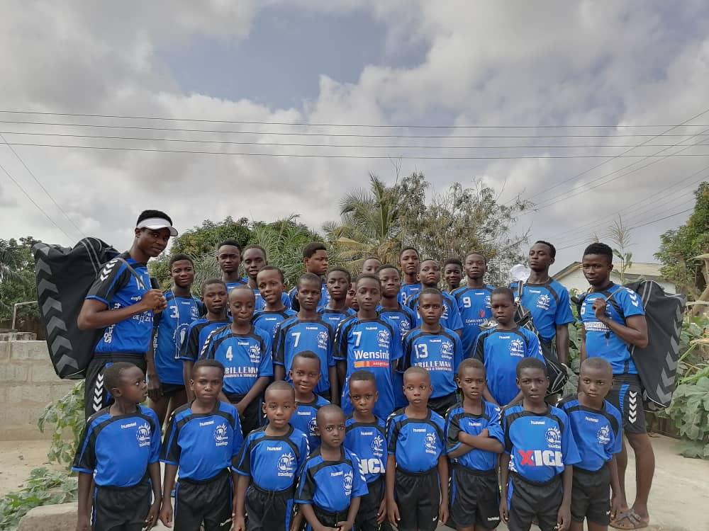 Superblij met schenking in Ghana!