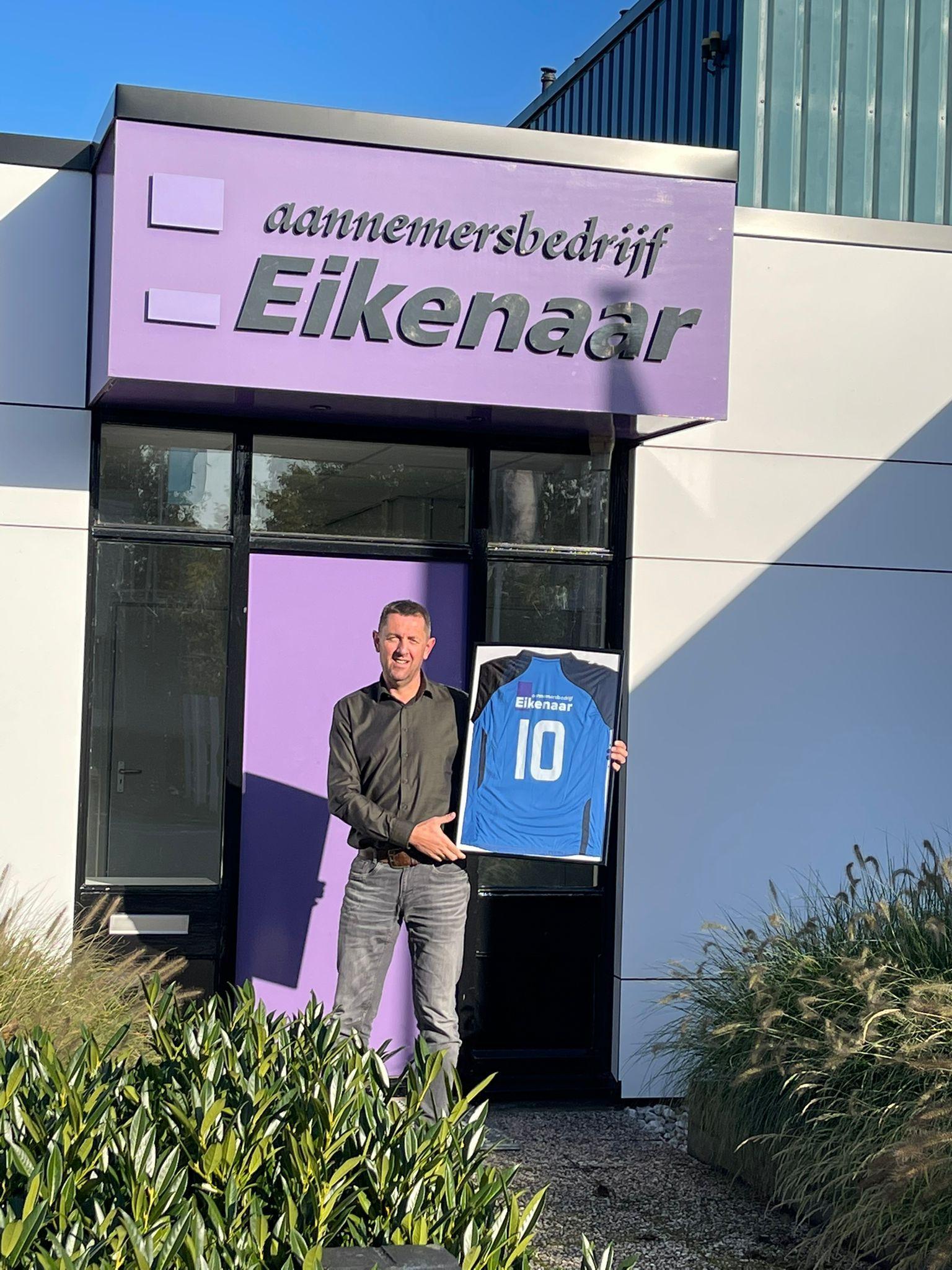 Sponsor: Bouwbedrijf Rudi Eikenaar